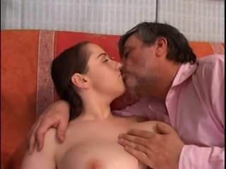 Big Tits Chubby Kissing Old and Young Teen