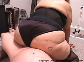 Anal Mexican BBW Granny Got Butt Fucked