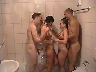 Amateur Groupsex Hardcore Party Showers Teen