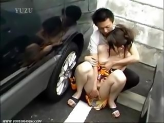 Asian dirty sluts parking lot blowjob