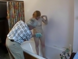 Amateur Bathroom Hairy Old and Young Small Tits Teen