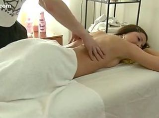 Sexy Teen Enjoys Hard Massage Sex