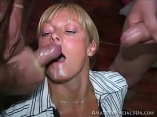 Amateur Blowjob British Cute Facial Teen Threesome