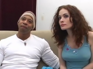 Ginger Lea Interracial free