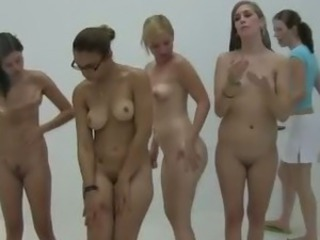 Amateur college girlhood showering