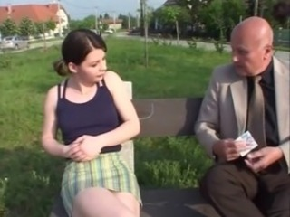 Amateur Cute Old and Young Outdoor Teen