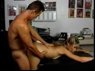 Cute Doggystyle Hardcore Office Teen