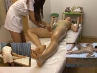 Asian HiddenCam Japanese Massage Oiled Teen Voyeur
