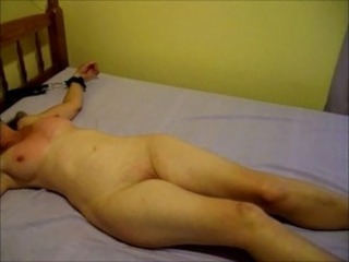 Nude Wife has her Cunt Flogged for 'Fun'