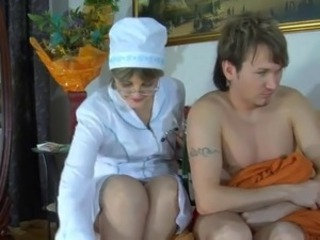 Amateur Mature Nurse Russian Uniform