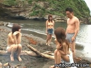 Asian Beach Cute Groupsex Japanese Nudist Teen