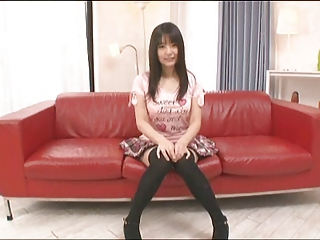 Amazing Asian Japanese Skirt Stockings Teen