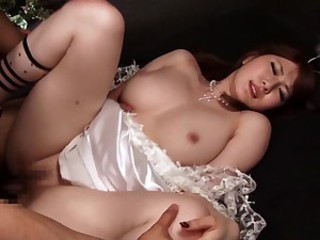 Lewd Japanese angel Momoka Nishina..