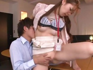 Asami Ogawa the pretty office lady..