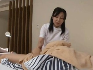 Mature Nurse Sucks a Dick And Jerks A..
