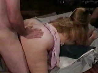 Chubby Doggystyle Mature Threesome