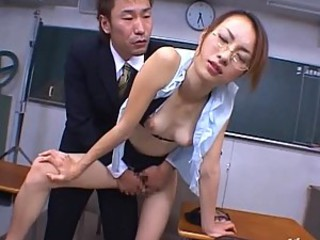 Fucking The Hot Asian Teacher