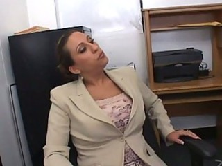 Bonerific Brunette MILF Alisandra Monroe Gets Fucked In Her Office