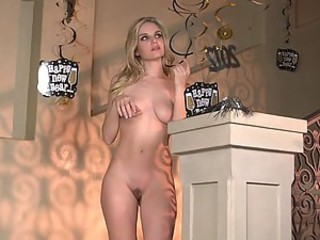 Incredibly Gorgeous Blonde Liz Ashley Showing Off Her Smoking Hot Body