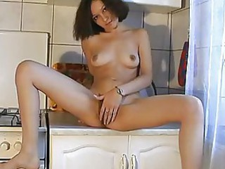russian hairy on kitchen