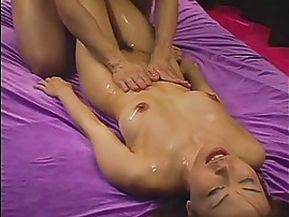 Asian Cute Hairy Japanese Massage Oiled Pussy Small Tits Teen