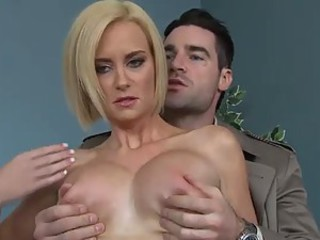 Blonde Milf With Big Tits Gives A Mean Deep Throat