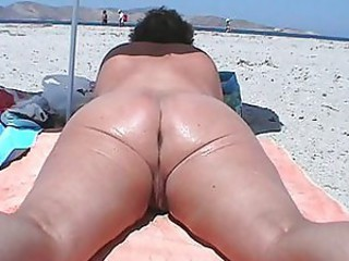 Ass Beach Mature Nudist Outdoor