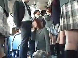Asian Blowjob Bus Japanese Teen