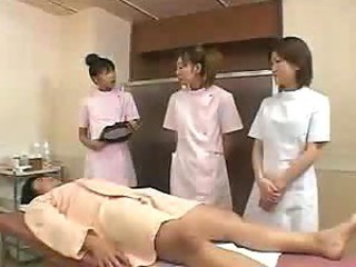 Japanese massage credentials 03 - part 2 - in all events to massage a man - only slightly cumshot