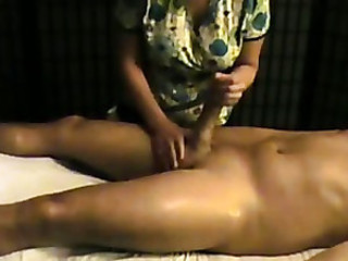 Amateur Handjob Massage Mature