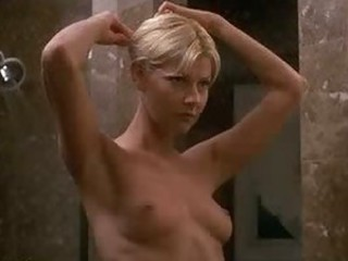 Sexy Blonde Amy Lindsay Touching Herself in the Shower
