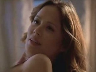 Incredibly Hot Asian Babe Moon Bloodgood Shows Her Rack In a Sexy Bra