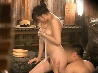 Fucking a Hot Asian in The Spa of Sex