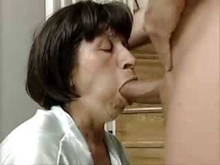 Blowjob German Mature