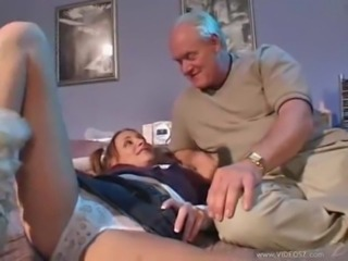Amazing Daddy Daughter Old and Young Panty Teen