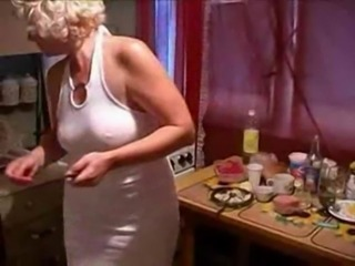 A  mom fucked by her lassie in put emphasize kitchen brooklet easy