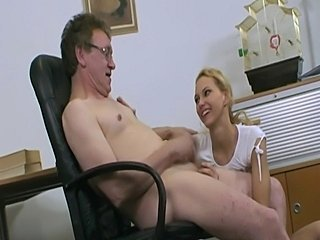 Dutch student fucks her teacher