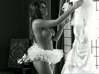 Amazing Big Tits Bride Cute  Silicone Tits