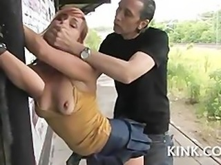 Bondage Clothed European French Forced Hardcore Outdoor Teen