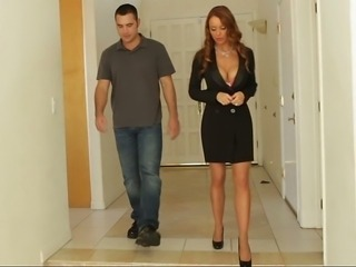Amazing Big Tits MILF Teacher