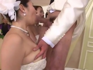 Asian Blowjob Bride Japanese