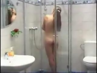 Fucking my girlfriend inthe shower
