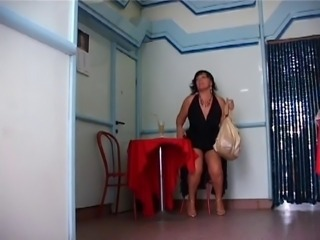 Big woman bathroom fuck