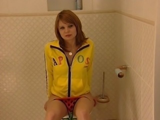 Panty Russian Teen Toilet