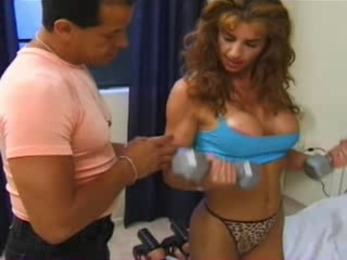 Big Tits  Panty Silicone Tits Sport