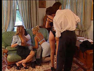 "Groupsex At The Office - Real Hot Orgy"" target=""_blank"