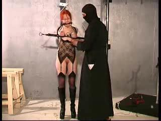 Melany strappado bondage training PART-2