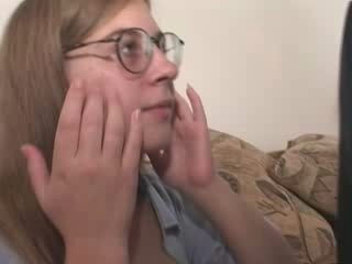 Glasses Interracial Teen