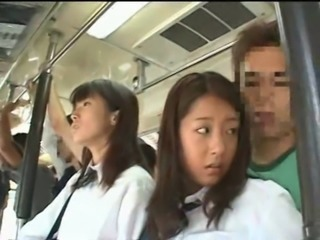 Asian Bus Japanese Public School Teen Uniform