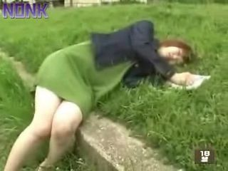Asian Japanese Outdoor Sleeping Teen